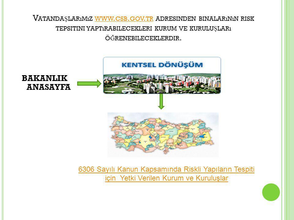 V ATANDA Ş LARıMıZ WWW.CSB. GOV.