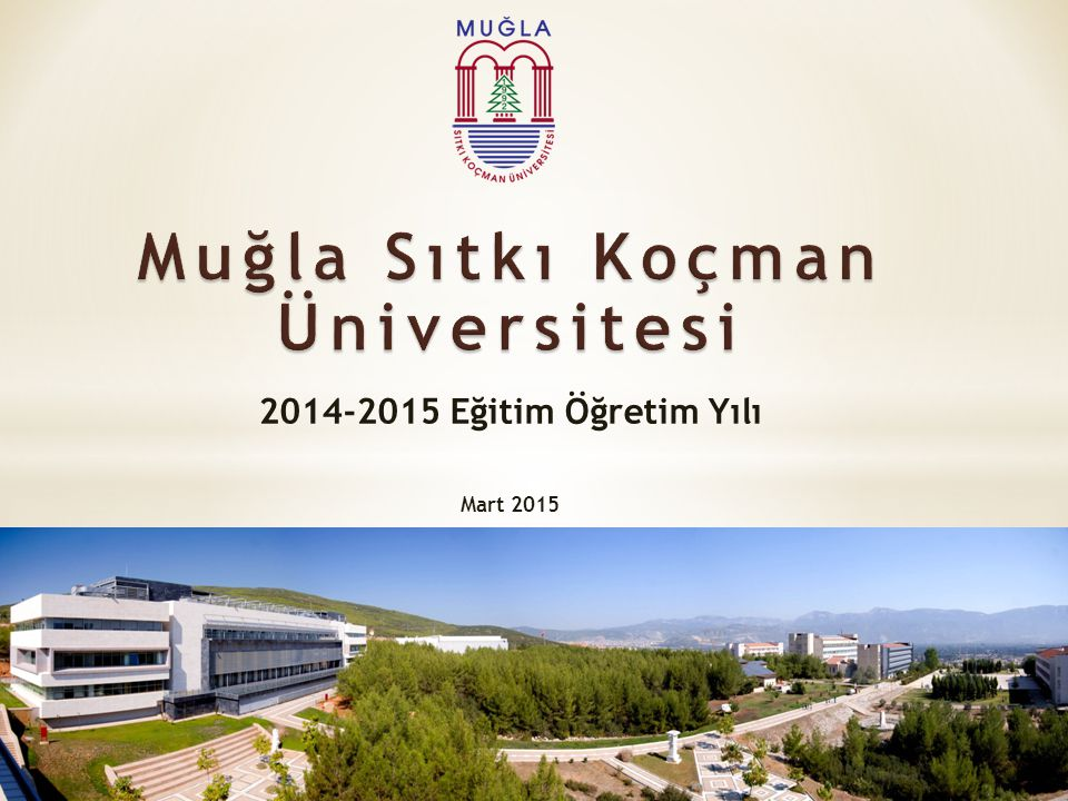 2014-2015 Eğitim Öğretim Yılı Mart 2015
