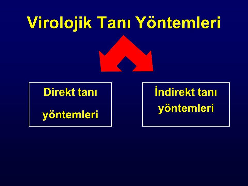 Virolojik Tanı Yöntemleri 1.