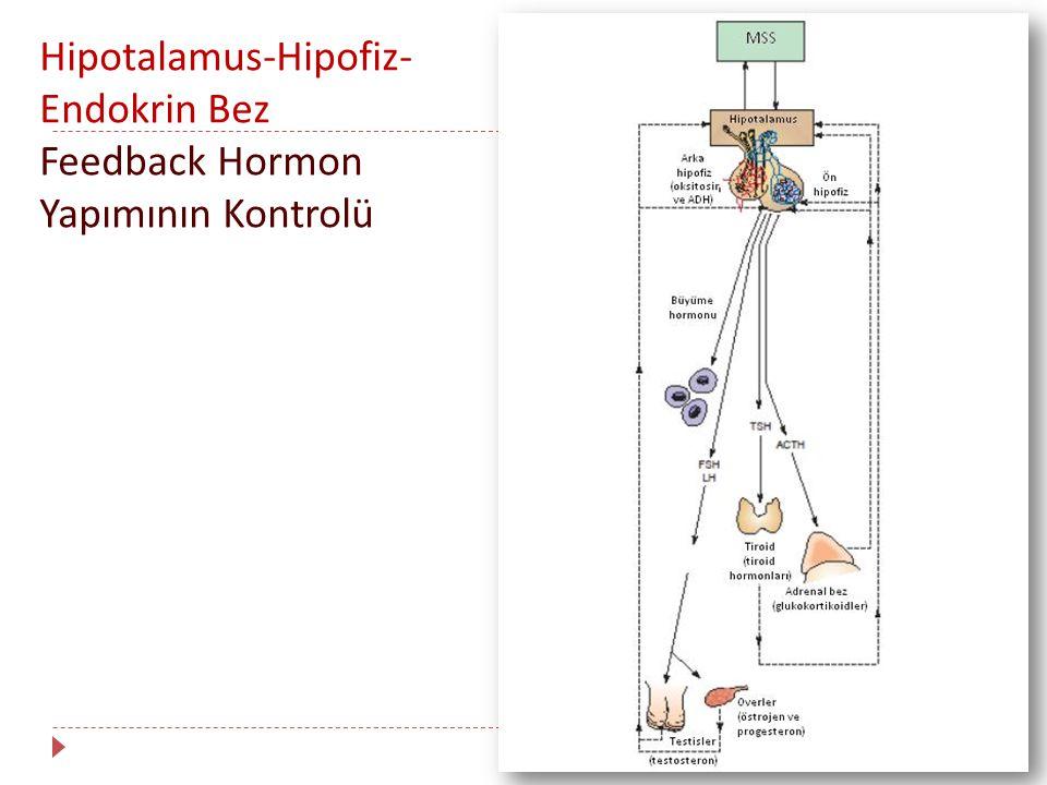 Hormon Düzeylerinin Ölçümü : Bazal Düzeyler  İmmunolojik analizler genellikle vücut sıvılarında hormon ölçümlerinde kullanılmaktadır.