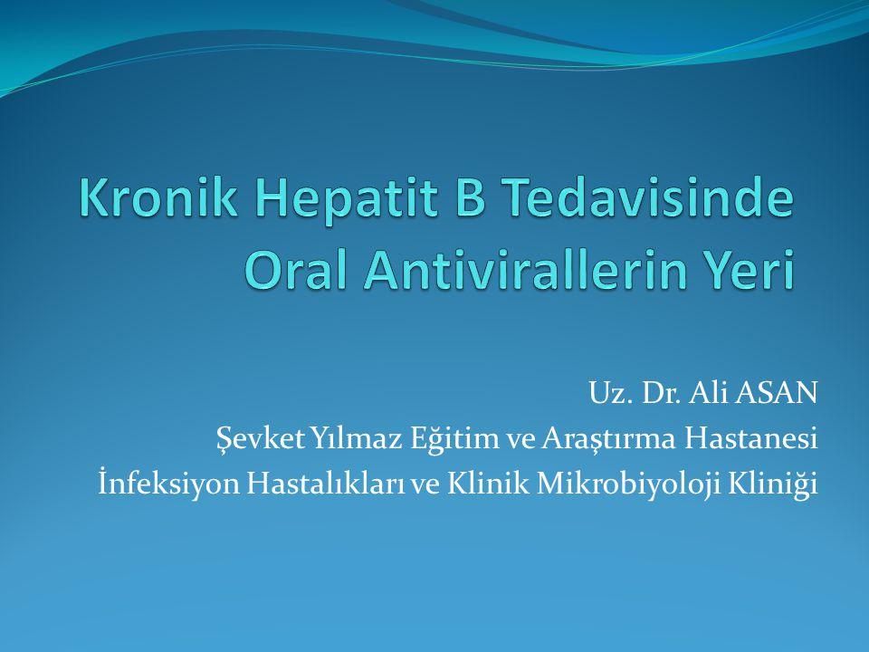 HIV + HBV Son HIV rehberlerinde HIV ve KHB'nin birlikte tedavi edilmesi önerilmektedir.