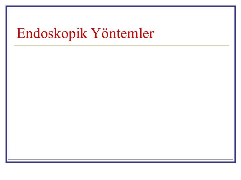 Endoskopik Yöntemler