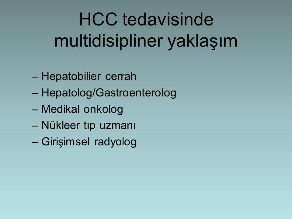 Tx (Transplantasyon) En efektif tedavidir Hem HCC hem de altta yatan KC hast.