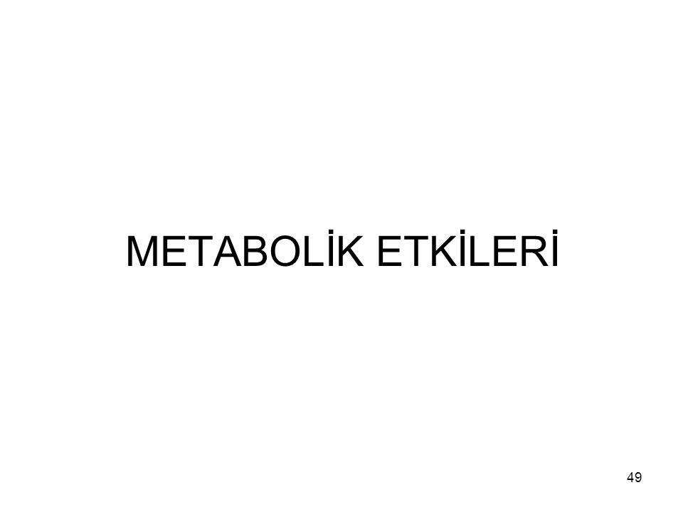 METABOLİK ETKİLERİ 49