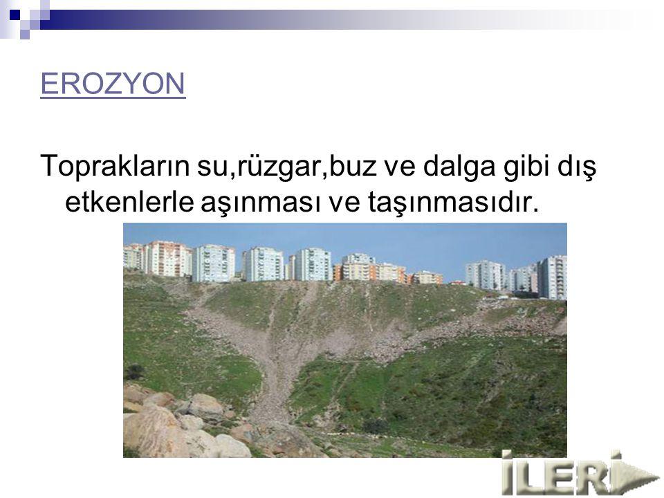 OZON TABAKASI DELİNİYOR Ozon tabakası her geçen gün incelmektedir