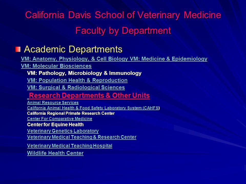College of Veterinary Medicine Michigan State University (ABD de 25 veteriner fakültesi var) Academic Departments Large Animal Clinical Sciences Micro