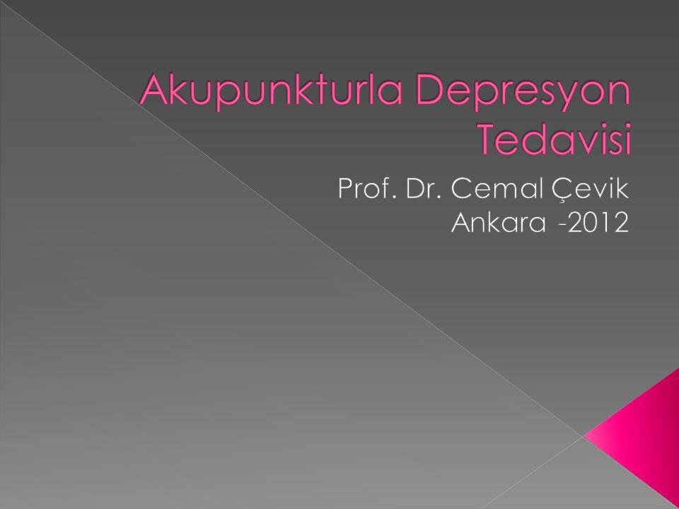  Depresyon duygulanım durumu bozukluğudur.