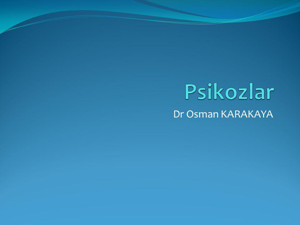 Dr Osman KARAKAYA
