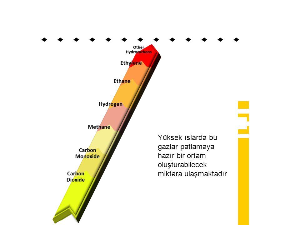 Yüksek ıslarda bu gazlar patlamaya hazır bir ortam oluşturabilecek miktara ulaşmaktadır