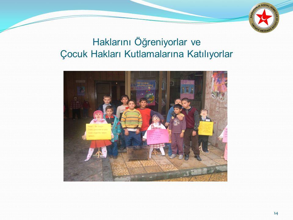 14 Haklarını Öğreniyorlar ve Çocuk Hakları Kutlamalarına Katılıyorlar 14