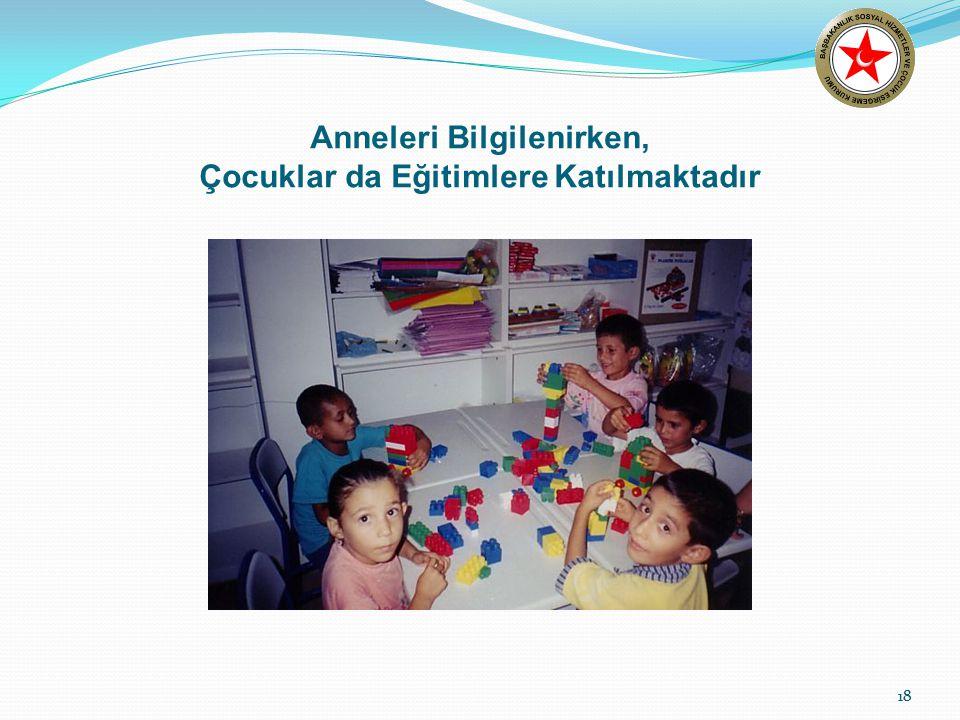 18 Anneleri Bilgilenirken, Çocuklar da Eğitimlere Katılmaktadır 18
