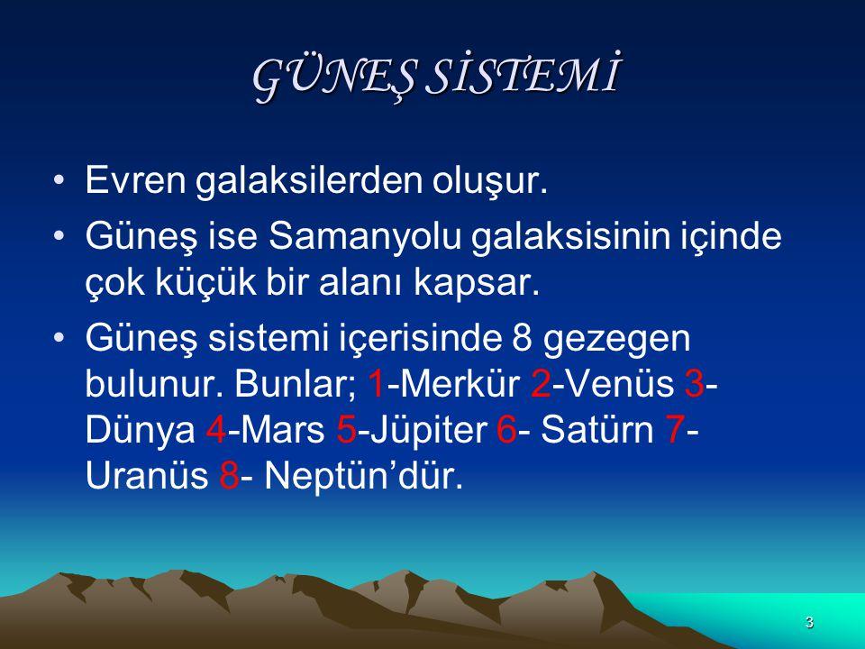 13 Dünyamızın Geoid Olmasının Sonuçları  Ekvatorun uzunluğu (6378 km.) meridyen uzunluğundan (6356,5 km.) fazladır.