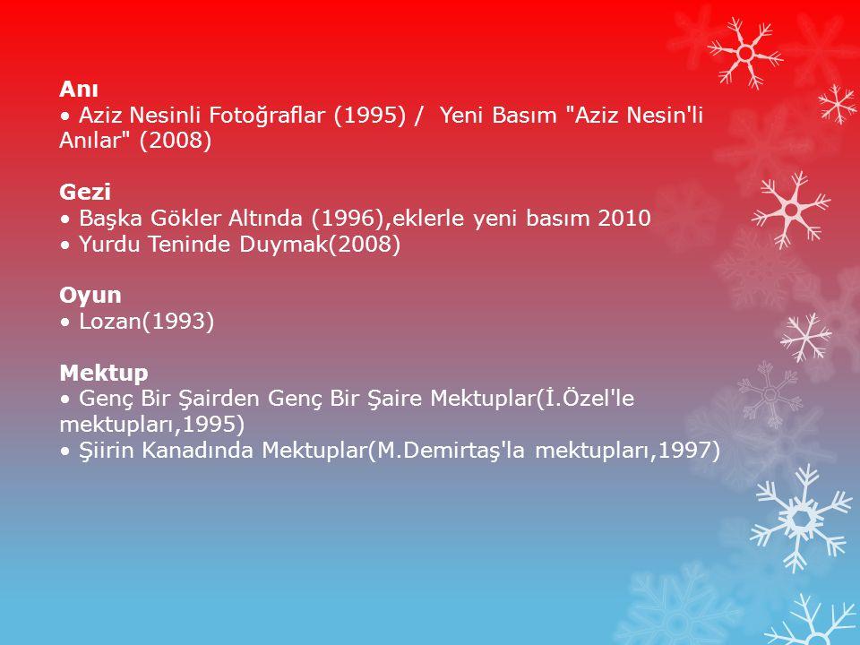 Anı Aziz Nesinli Fotoğraflar (1995) / Yeni Basım
