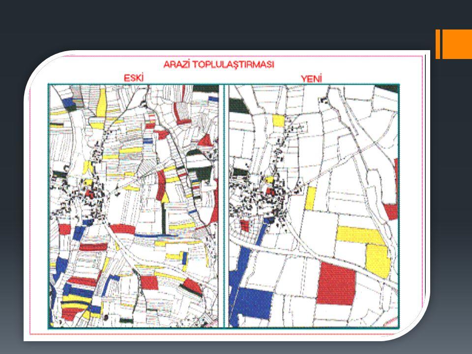 ARAZİ PARÇALANMASININ NEDENLERİ Avrupa Birliği ülkelerinde arazi bölünmüşlüğü tarımsal araziler niteliklerine göre sınıflandırılarak yapılmaktadır.