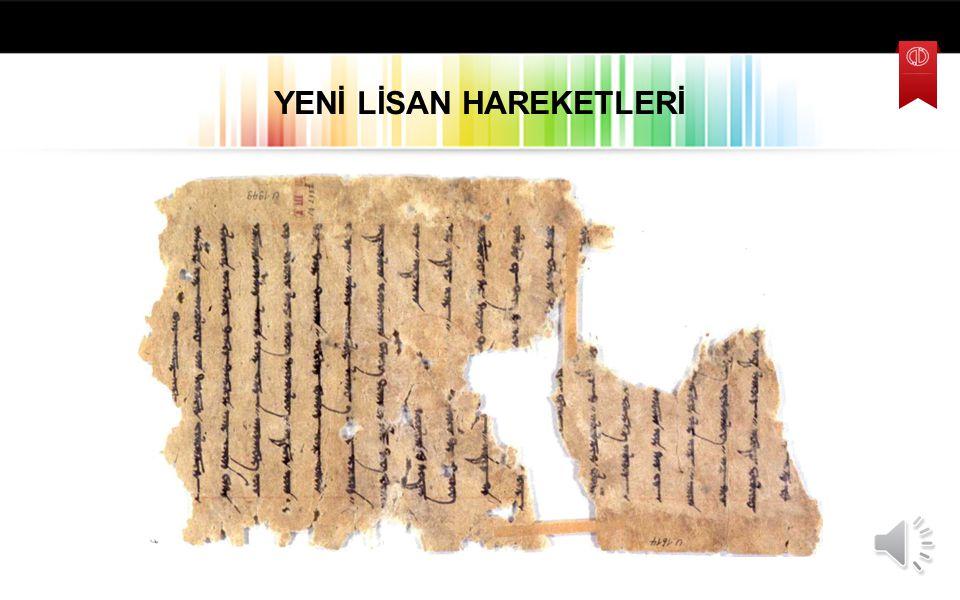 14. yy'da Aşık Paşa ve Hoca Mesut gibi şairler bu dönemde pek çok kişinin sade bir Türkçe yöneldiğini söyler. 15. yüzyılda da sade bir yazı dili sürdü