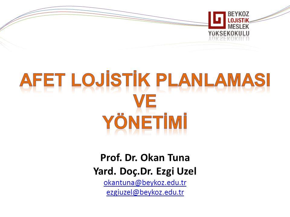 Prof. Dr. Okan Tuna Yard. Doç.Dr. Ezgi Uzel okantuna@beykoz.edu.tr ezgiuzel@beykoz.edu.tr