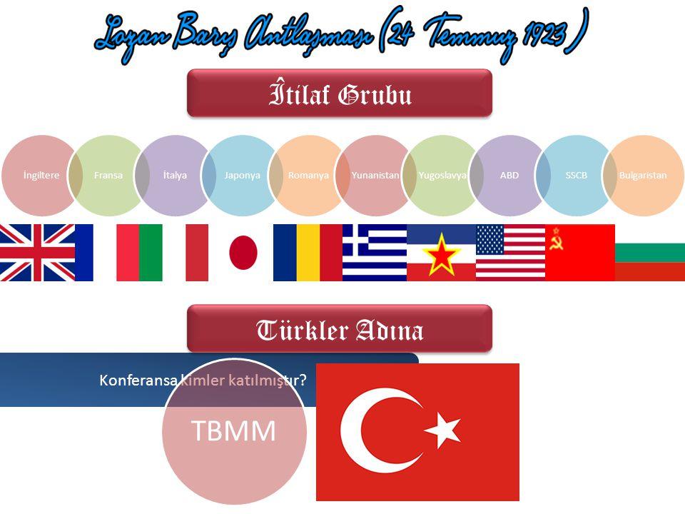 İtilaf Devletleri, birçok anlaşmaya tanıklık etmiş olan İsviçre'ye anlaşmazlıklar çıkarmak amacıyla her zaman yaptığı gibi İstanbul Hükümeti'ni ve TBM