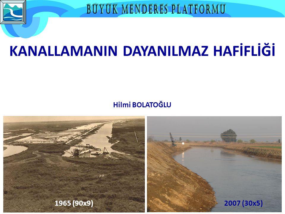 1965 (90x9)2007 (30x5) KANALLAMANIN DAYANILMAZ HAFİFLİĞİ Hilmi BOLATOĞLU
