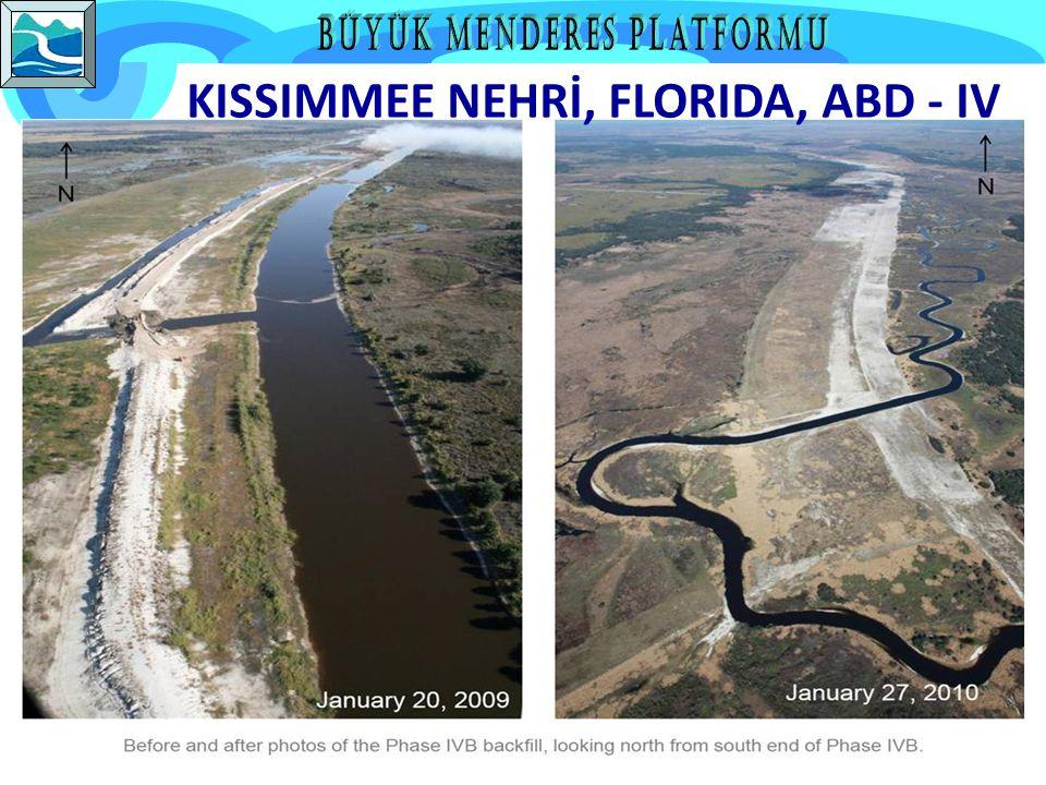 ABD Kongresi 1992 yılında Kissimmee River Restoration Project başlangıcını onaylar.