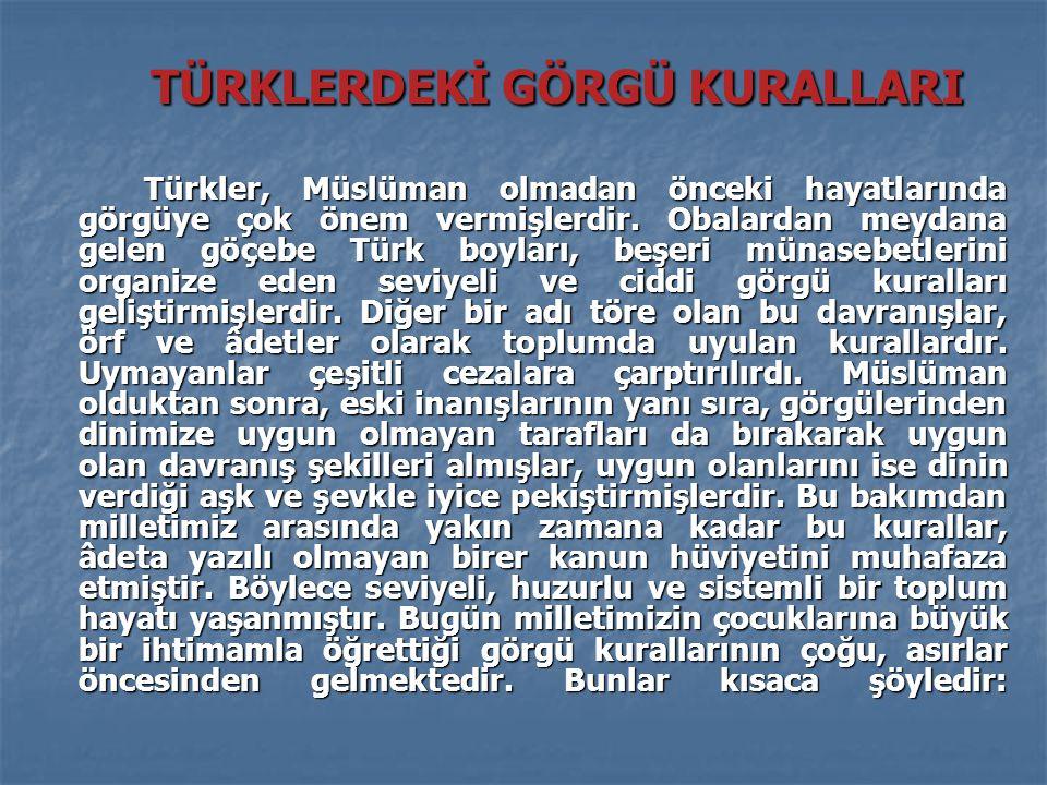 Türk ailesinde evin reisi babadır.