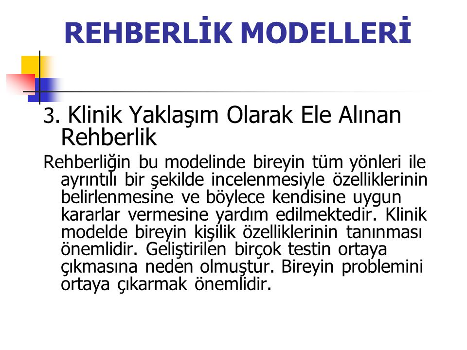 REHBERLİK MODELLERİ 3.