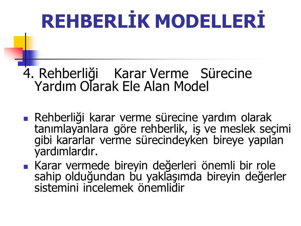 REHBERLİK MODELLERİ 4.