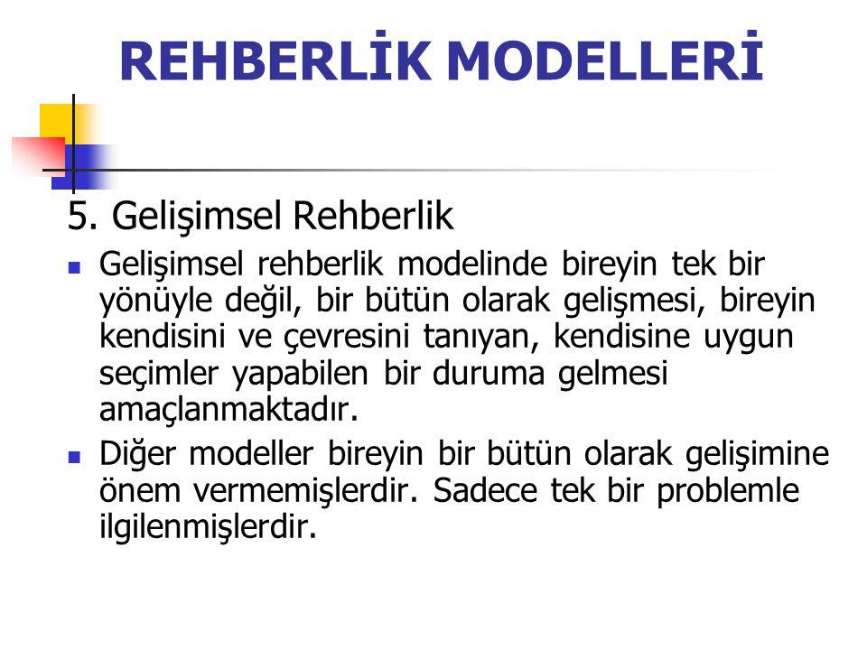 REHBERLİK MODELLERİ 5.
