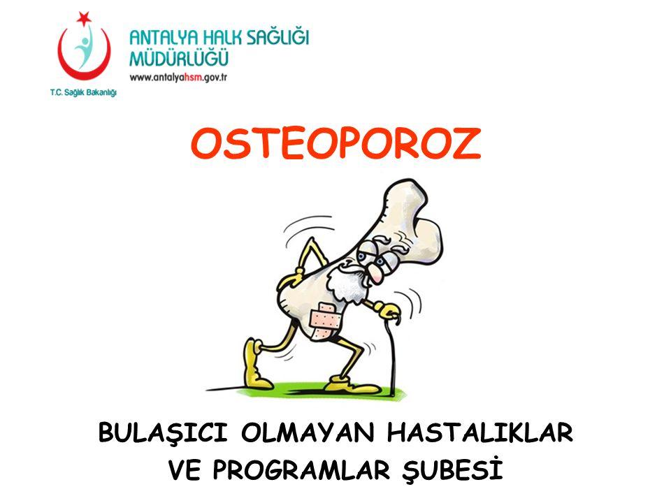 OSTEOPOROZ KEMİK ERİMESİ DEMEKTİR