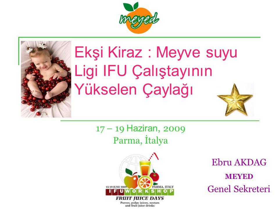 Ajanda Vişne Tarihi Bazı özellikleri Dünyada vişne üretimi Türkiye de Vişne / suyu üretimi ve tüketimi İçerdiği besin öğeleri Sağlığa faydaları Sonuç