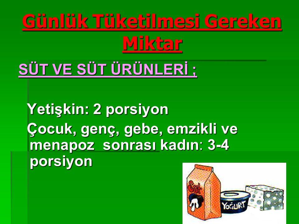 7 BESİN GRUPLARI BESİN GRUPLARI  Süt ve süt ürünleri  Et,Tavuk,Balık,Kurubaklagiller  Sebze ve Meyveler  Tahıllar ve tahıl grupları