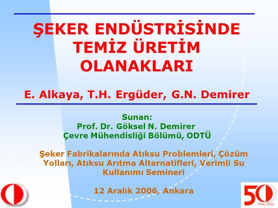 Sunan: Prof. Dr. Göksel N.