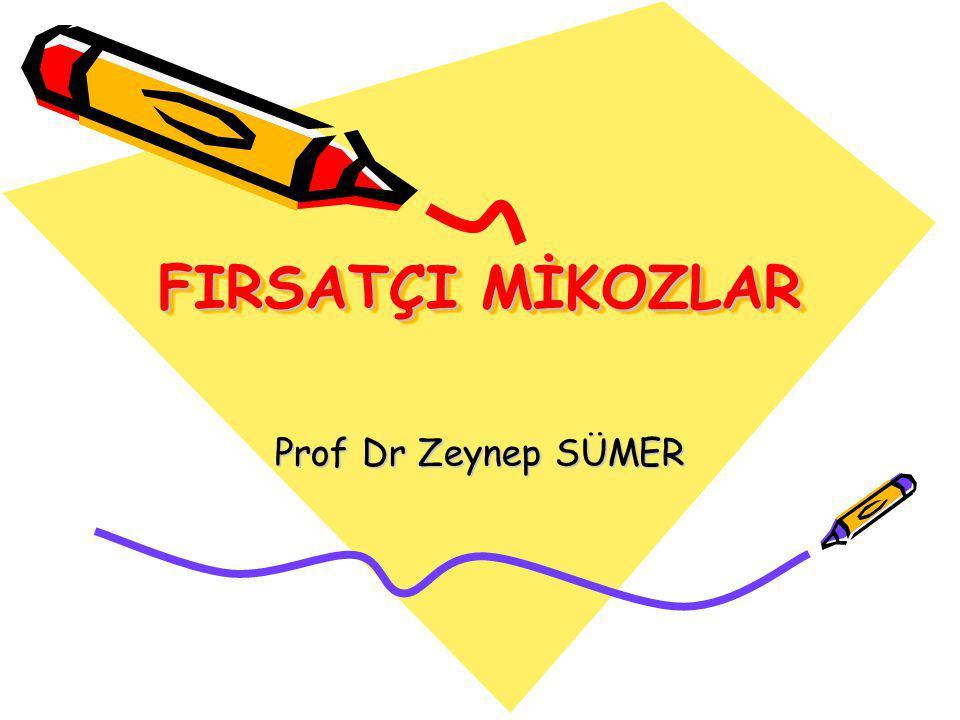 ASPERGİLLOZİS Klinik tablolar-II III.