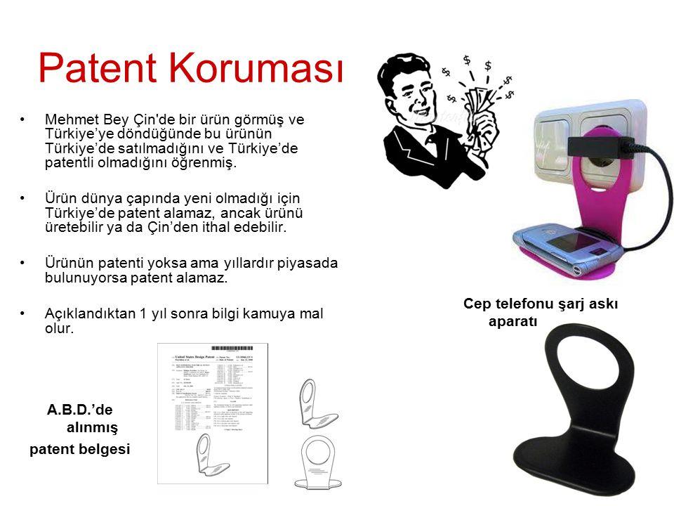 Mehmet Bey Çin'de bir ürün görmüş ve Türkiye'ye döndüğünde bu ürünün Türkiye'de satılmadığını ve Türkiye'de patentli olmadığını öğrenmiş. Ürün dünya ç