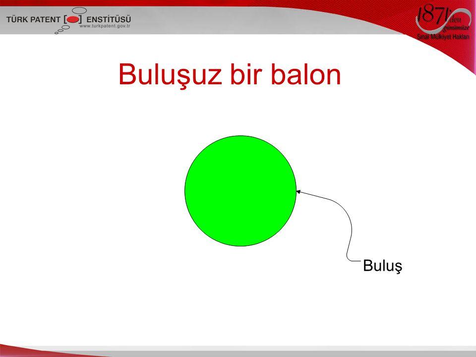 Buluşuz bir balon Buluş