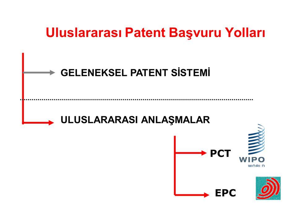 Uluslararası Patent Başvuru Yolları