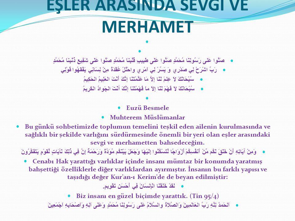 VEDA HUTBESİNDE NEBİ(S.A.V) Amr İbni Ahvas el–Cüşemî radıyallahu anh, Vedâ haccı'nda Peygamber aleyhisselâm'ı dinlediğini, Allah'a hamd ü senâ edip halka öğüt verdikten sonra Resûlullah'ın şöyle buyurduğunu söylemektedir: Ashâbım.