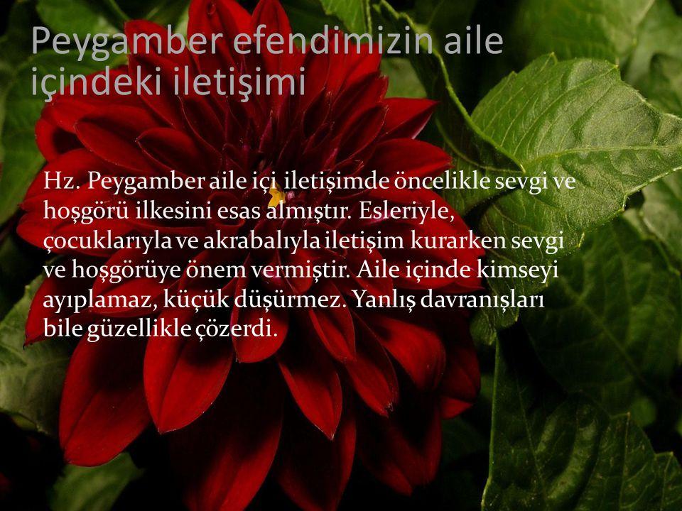 AİLE MUTLULUĞU İÇİN 4.