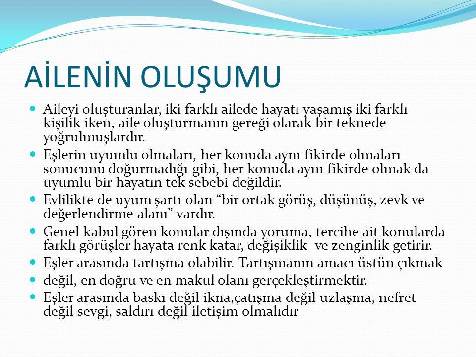 HUZURLU BİR YUVA İÇİN 11 ALTIN KURAL 1.
