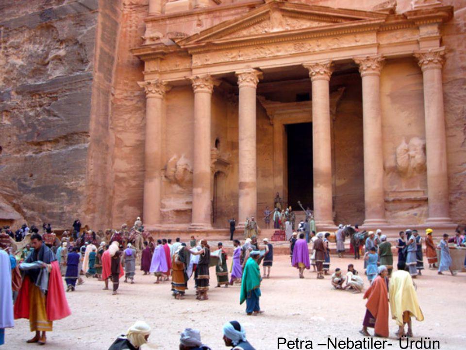 Petra –Nebatiler- Ürdün