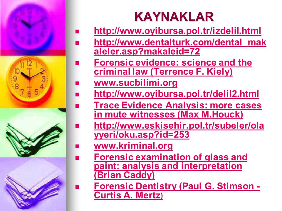 KAYNAKLAR http://www.oyibursa.pol.tr/izdelil.html http://www.dentalturk.com/dental_mak aleler.asp?makaleid=72 http://www.dentalturk.com/dental_mak ale