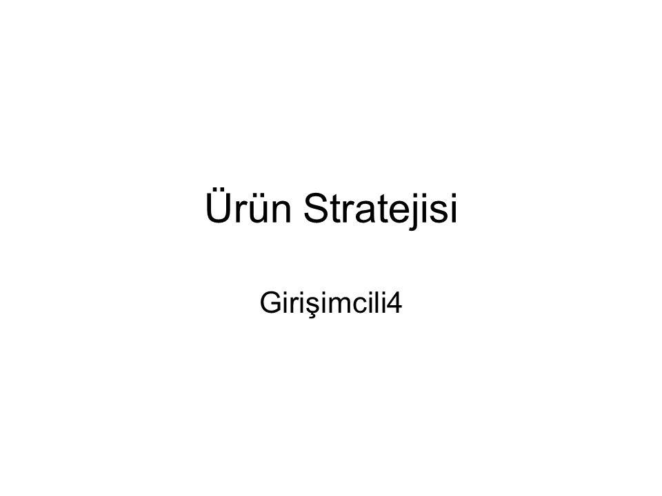 Ürün Stratejisi Girişimcili4