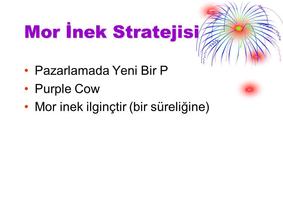 Mor İnek Stratejisi Pazarlamada Yeni Bir P Purple Cow Mor inek ilginçtir (bir süreliğine)