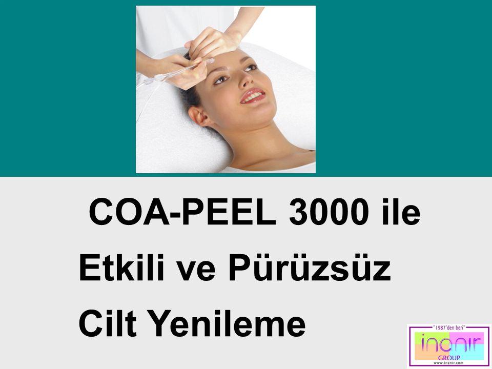 Contents COA-PEEL 3000 ile Etkili ve Pürüzsüz Cilt Yenileme