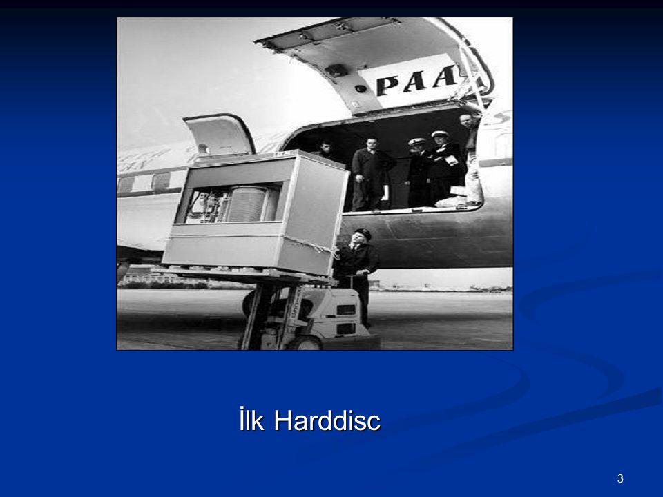 3 İlk Harddisc