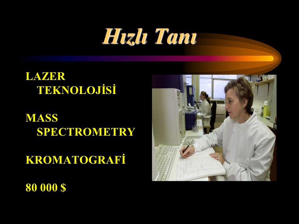 Hızlı Tanı LAZER TEKNOLOJİSİ MASS SPECTROMETRY KROMATOGRAFİ 80 000 $