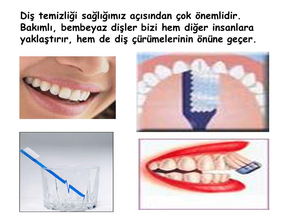 Diş temizliği sağlığımız açısından çok önemlidir. Bakımlı, bembeyaz dişler bizi hem diğer insanlara yaklaştırır, hem de diş çürümelerinin önüne geçer.