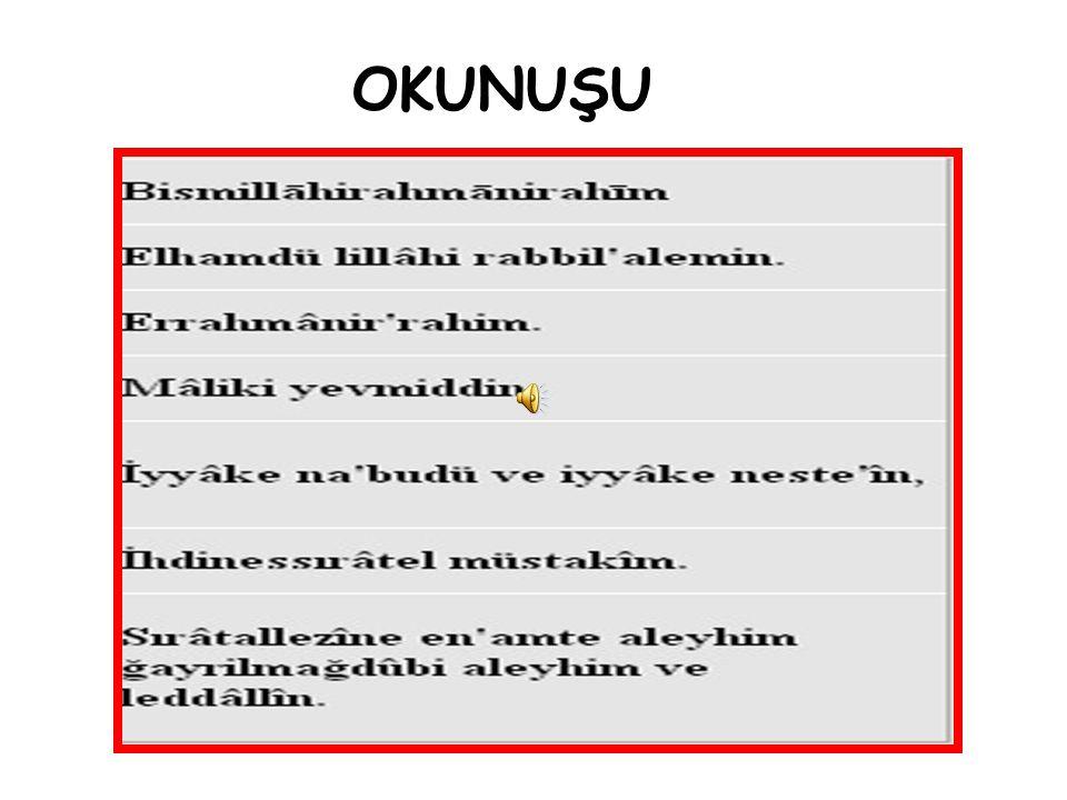 OKUNUŞU