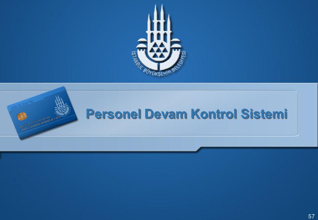57 Personel Devam Kontrol Sistemi