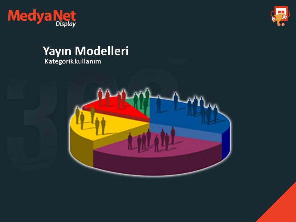 Kategorik kullanım Yayın Modelleri