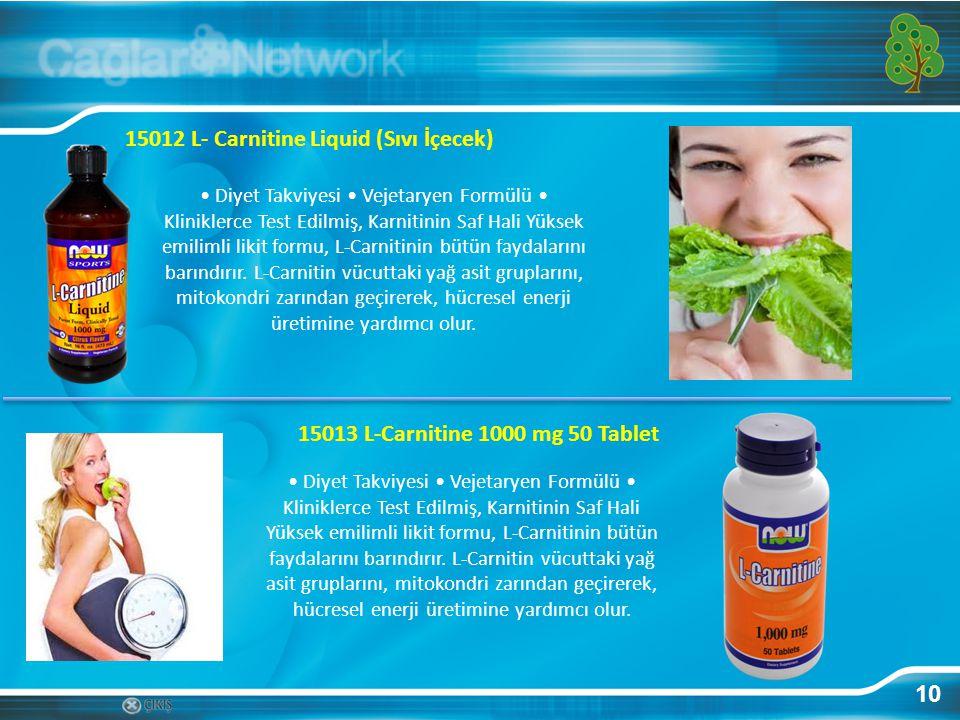 10 15012 L- Carnitine Liquid (Sıvı İçecek) Diyet Takviyesi Vejetaryen Formülü Kliniklerce Test Edilmiş, Karnitinin Saf Hali Yüksek emilimli likit form